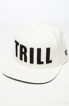 Trill Snapback (White)