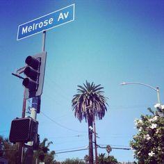 Melrose Avenue September 2014 Instagram : veveordie