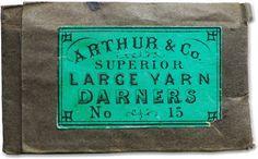 vintage labels via letterology