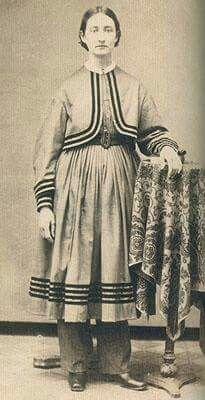 Bloomer or exercise dress from Jennifer Allison Stanley
