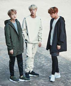 #BTS #Puma Suga Jin Jhope