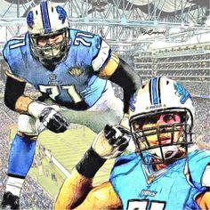 ecd1998836c 62 Best Riley reiff images | Detroit Lions, Nfl detroit lions, Draw