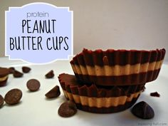 protein peanut butter cups - healthy recipes