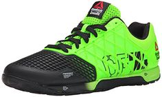 Reebok Mens R Crossfit Nano 40 Solar Training Shoe GreenBlack 14 M US -- To view further for this item, visit the image link.