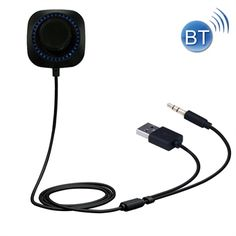 Bil Bluetooth 4.1 mottagare - Mic & LED till iPhone