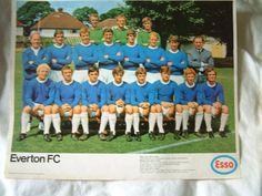 Vintage Everton Football team photos 1960's | eBay