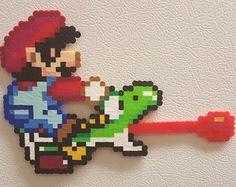 Bowser perler koopa pixel art 8 bit perler beads mario by PerlPop