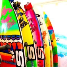 Awesome Surf Boards.