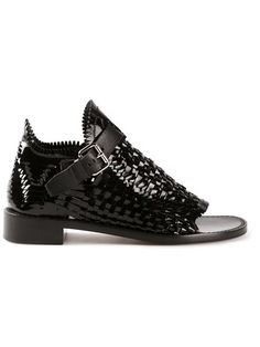 Shop Proenza Schouler woven sandals in Hirshleifers from the world's best independent boutiques at farfetch.com. Over 1000 designers from 60 boutiques in one website.