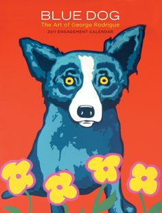 Love Blue Dog by George Rodrigue