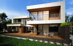 HOUSE IN ROSTOV-ON-DON №1 project is made in the composition of M2 Architectural Group