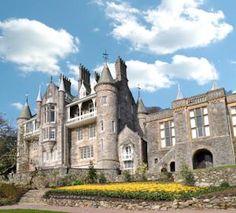 My venue.  Chateau Rhianfa here in sunny Wales! #mydreamwedding