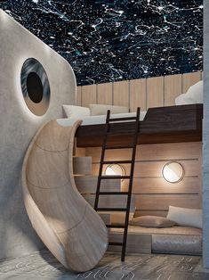 Contemporary kids rooms ideas and inspiration #childrenroom #kidsbedroom #kidsroom #kidsroomsdecor #kidsroomideas #kidsroomdesign #playground #lightingdesign