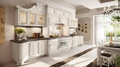 Decapé kitchen with handles PANTHEON   Kitchen by Cucine Lube ...