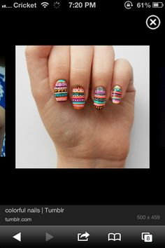 Acrylic nails 2mrw need to find a cute design though!