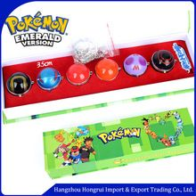 Juguetes Lindo Pokemon Pokeball Bolas Mágicas 6 unids Set Monster Juguete de Regalo para Niños