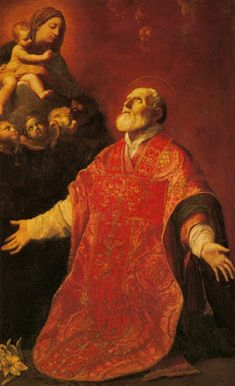 Page of St Filippo Neri in Ecstasy by RENI, Guido in the Web Gallery of Art, a searchable image collection and database of European painting, sculpture and architecture Baroque Painting, Baroque Art, Catholic Saints, Patron Saints, Felipe Nery, St Philip Neri, Figueras, Italian Baroque, Religious Paintings