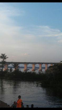 Ponte sobre o rio negro Manaus AM