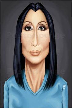 Poster Cher  art | decor | wall art | inspiration | caricature | home decor | ideas | gift
