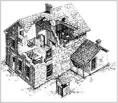 diagram of Carthage Jail