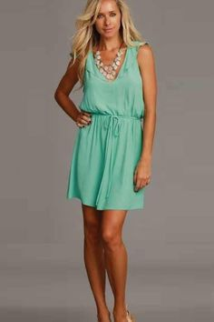 backless Lucy Love dress.