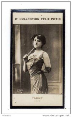Leonie Yahne | Mlle YAHNE ( Femme de théatre ) - 2 eme collection FELIX POTIN