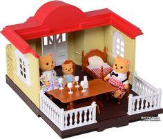Картинки к Игровой набор Na-Na IF255 Домик с мебелью и фигурками счастливой семьи (T48-027) | Rozetka.ua