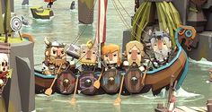 Viking Life on Behance by Ben RC: