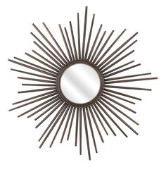 Shop IMAX Worldwide 71803 Berrak Starburst Mirror at Lowe's Canada. Find our selection of wall mirrors at the lowest price guaranteed with price match + off. Starburst Mirror, Beautiful Mirrors, Floor Mirror, Mirror Mirror, Black Mirror, Home Decor Outlet, 5 D, Paint Colors, Mirrors