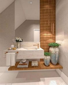 31 pretty unique modern bathroom interior decoration ideas to give you a peaceful bath time 7 Modern Bathrooms Interior, Bathroom Design Luxury, Big Bathrooms, Bathroom Designs, Luxury Bathtub, Bathroom Colors, Beautiful Bathrooms, Small Bathroom, Timeless Bathroom