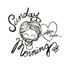 Sunday Morning Coffee Love