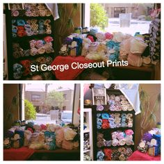 Closeout Blankets Sale Starts Today, Monday, July 22nd, 2013 While Supplies Last @ St George office (720 S. River Road Suite C115 St. George, UT 84790) Hours: Monday-Friday: 10-6 See the picture for what this store has!!! Monsters-$78 Adults-$64 Tween-$43 Infant-$28 If you mention you saw this you can get an additional $5 off one Monster or Adult!!