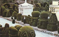 topiary  created by Azael Franco Guerrero