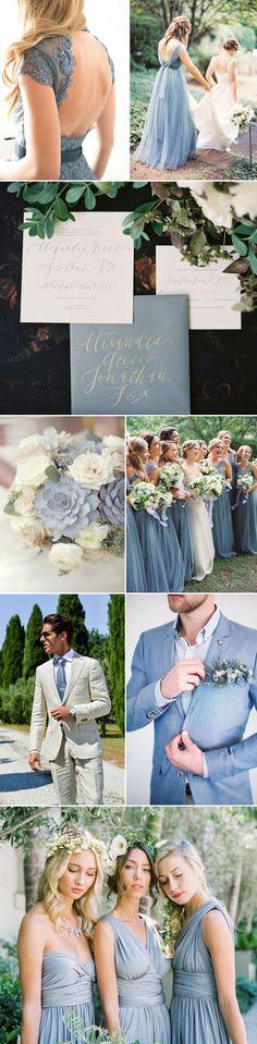 Wedding Ideas in Infinity Blue