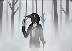 Mr. Crow from Cube Escape games.