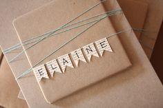 DAiSYS & dots: Pinterest Inspiration!  name bunting