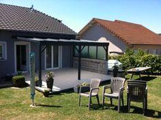 Auvents Pergolas Alu / Bois pour terrasse en Lorraine
