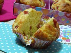 muffin salati al prosciutto soffici