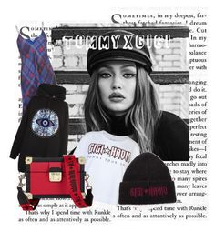 """""""Untitled #7"""" by raluca-daniela-i on Polyvore featuring Maybelline, Tommy Hilfiger and tommyxgigi"""