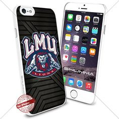 """NCAA Loyola Marymount Lions iPhone 6 4.7"""" Case Cover Protector for iPhone 6 TPU Rubber Case White SHUMMA http://www.amazon.com/dp/B0176L6NW4/ref=cm_sw_r_pi_dp_f9OTwb13G86XF"""