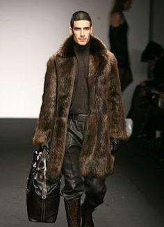 New TOM FORD BLACK BEAVER MENS FUR COAT | Fur coat, Tom ford and Fur
