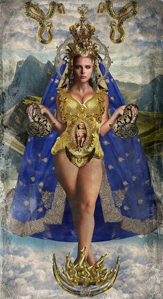 Luis Gomez de Los Angeles. Religion et Pop Art