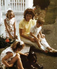 Jacqueline Kennedy in Hyannis Port. Summer, 1964