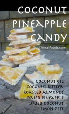 Coconut Pineapple Candy @ Traditional-Foods...