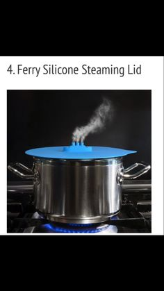 Silicon ferry steam lid