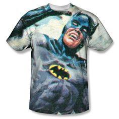 Batman Classic TV - Foliage Adult All Over Print 100% Poly T-Shirt