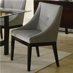 Belmont Side Chair in Cappuccino [Set of 2] by Coaster Home Furnishings. $302.03. 102232 Coordinating Items Sold Separately Features: -Casual style.-Durable microfiber fabric. Construction: -Solid wood veneer construction. Color/Finish: -Cappuccino finish. Assembly Instructions: -Assembly required. Collection: -Belmont collection.