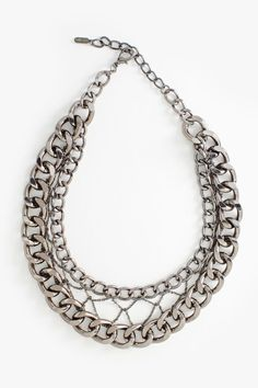 Chain Frame Necklace:
