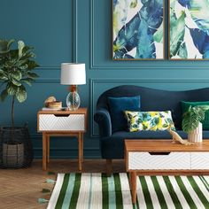 33 Trendy Home Living Room Paint Coffee Tables Green Coffee Tables, Painted Coffee Tables, Coffee Table With Drawers, Living Room Update, Living Room Paint, Home Living Room, Living Room Decor, Dining Room, Loft Stil