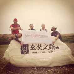 Our team did 112km through the Gobi desert the last days and achieved the fastest team award! #meetmagento #Magento #onlinebusiness #ecommerce